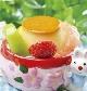 春のプリンアラモード/¥460(税込)