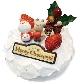 豆乳クリームのいちごサンド クリスマスケーキ 5号 (15cm)… 3,800 円(税込)