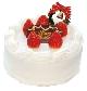 苺のクリスマス生ケーキ 5号… 3,000 円(税込)