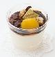 豆乳のパンナコッタを 黒蜜で [税込¥378]