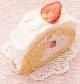 苺のロールケーキ[税込340円]