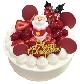 いちごづくしのクリスマスケーキ[6号…5,940円(税込)]