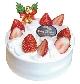苺のクリスマスケーキ[5号 (15cm)… 3,200 円(税込)]