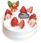 苺のクリスマスケーキ 5号3,456円税込
