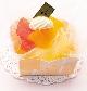 オレンジのレアチーズ/¥385税込