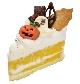 ハロウィンのかぼちゃのスフレケーキ[税込390円]