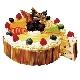 ペストリーシェフ特製クリスマスケーキ(アルコール有/無)[6号(約18cm)…税込3,980円]