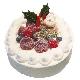 パティシエ中村クリスマスケーキ15cm…3,150円(税込)