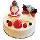 プレミアムチーズケーキクリスマスバージョン[12cm…税込2,300円]