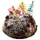 ブラックチョコのX'masチーズケーキ[5号(15cm)…税込3,465円]