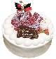 フェリーチェオリジナル「苺の生クリームケーキ」5号…3,500円(税込)