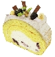 ブルーベリーと ヨーグルトの ロールケーキ[税込300円]