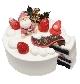 まっくろスポンジのクリスマスケーキ