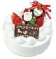 クリスマスデコレーションケーキ5号…3,000円(税込)6号…3,800円(税込)