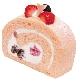 奥久慈卵と桜のロールケーキ[税込320円]