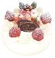 クリスマスケーキ4号 (12cm)… 2,400 円 (税込)